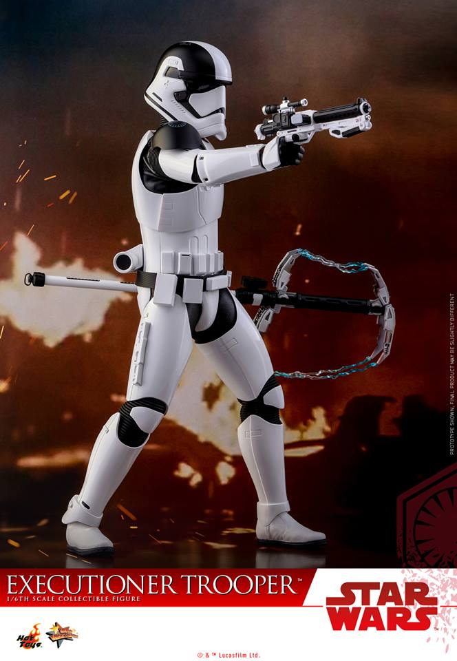Hot Toys The Last Jedi Executioner Trooper Sixth Scale Figure