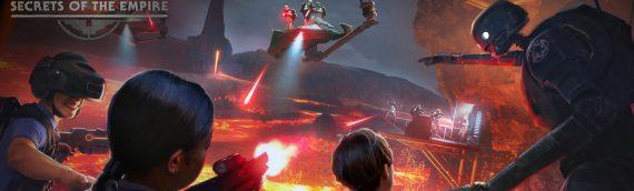 """""""Secret of The Empire"""" – La nouvelle attraction Star Wars de Disneyland se dévoile en vidéo"""