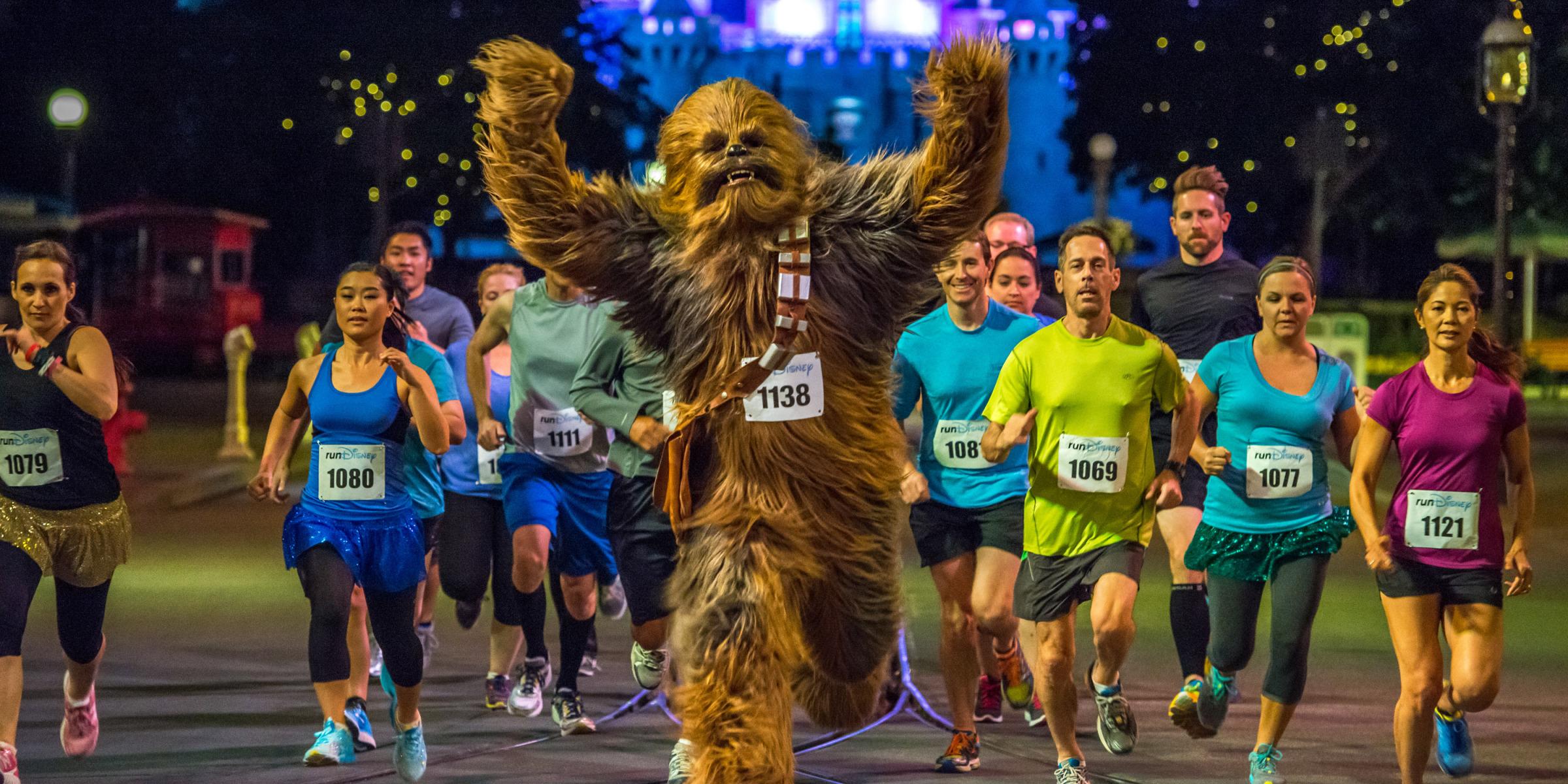 Star Wars Run Disney Disneyland Paris