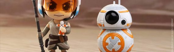 Hot Toys : Cosbaby The Force Awakens série 3