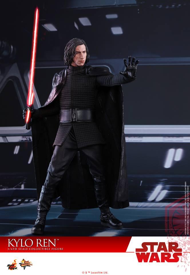 Hot Toys The Last Jedi Kylo Ren