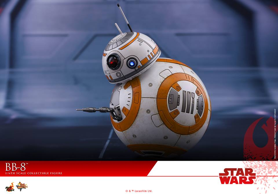 Hot Toys BB-8 Sixth Scale Figure
