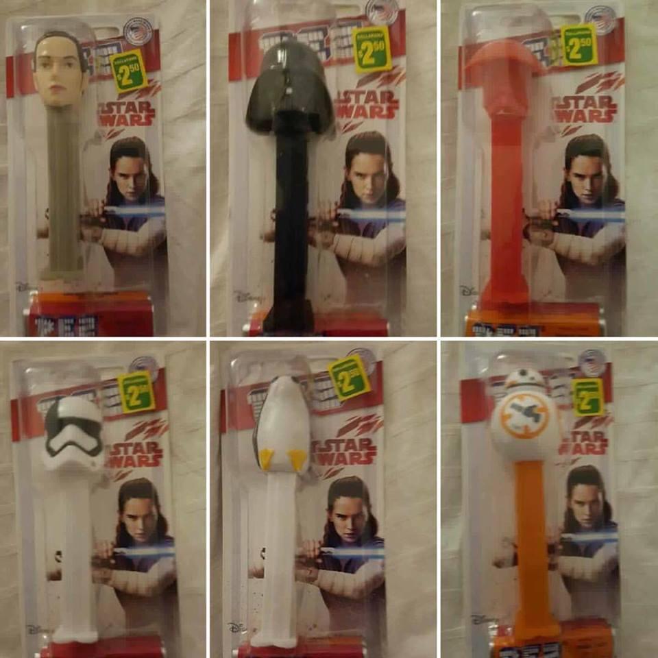 PEZZ The Last Jedi