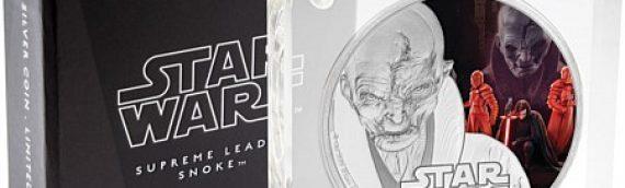 NZ Mint : les premières pièces de monnaie Star Wars The Last Jedi
