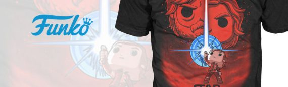 Funko : Des t-shirts Funko Pop Star Wars The Last Jedi