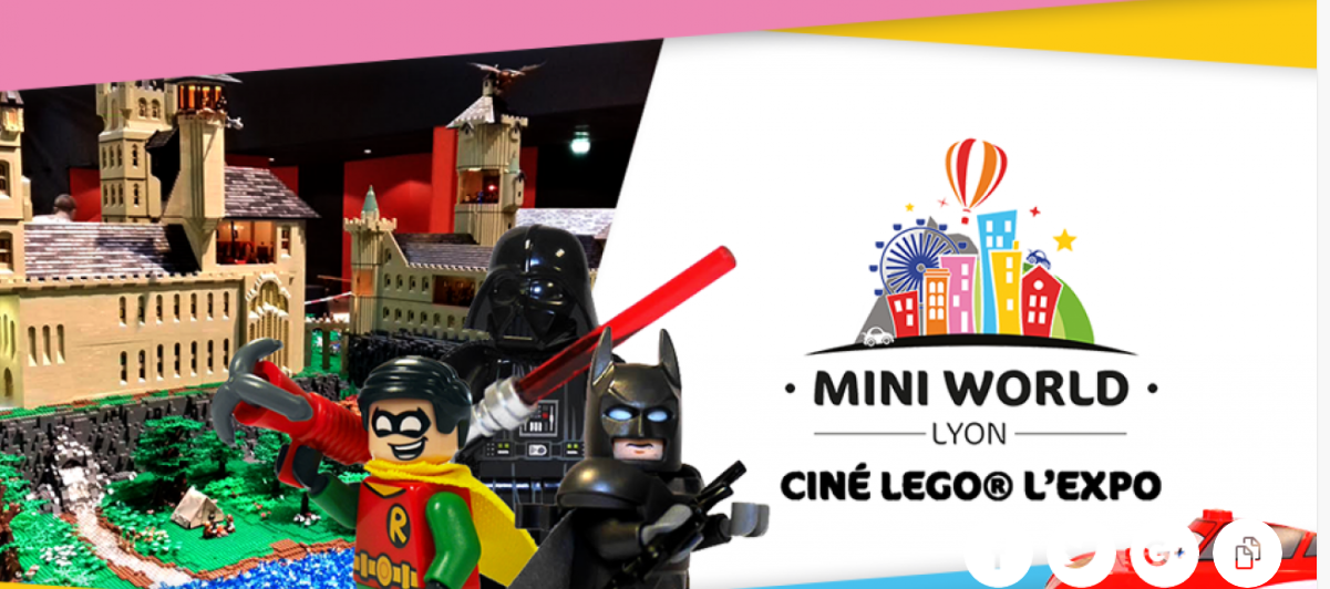 Mini World Lyon Cine LEGO