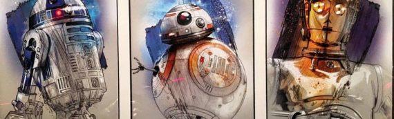 Disney – Six nouveaux artworks The Last Jedi