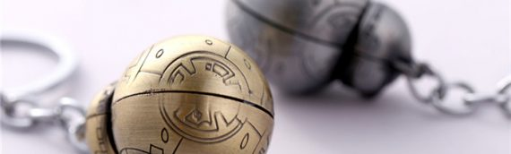 Design : porte-clés BB-8 Gold & Silver