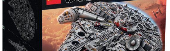 LEGO – Le Faucon Millenium UCS se dévoile en vidéo