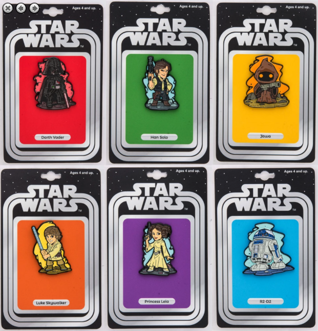 NYCC 2017 Star Wars Pins