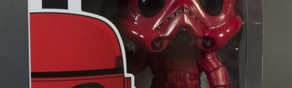 Funko POP – Stormtrooper Red Edition Exclu Target
