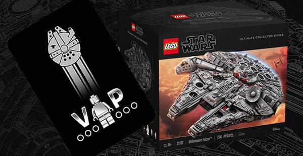 UCS Faucon Millenium LEGO