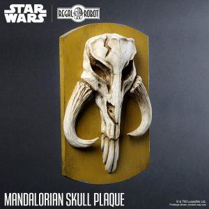 regal Robot mandolarian Skull