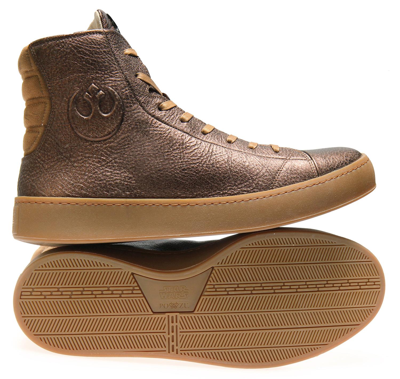 Po-Zu résistance shoes bronze