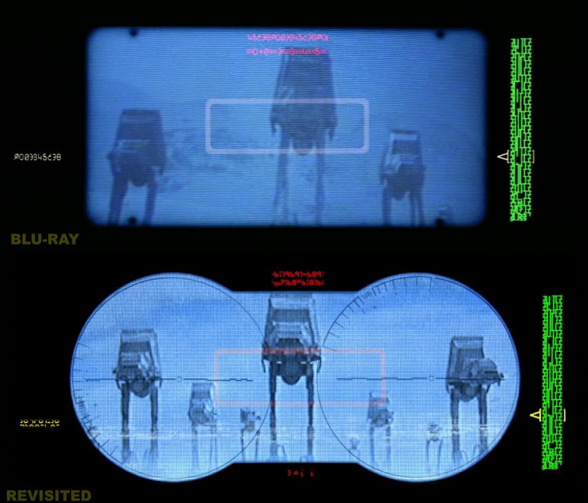 Star Wars Empire Strike back Revisited