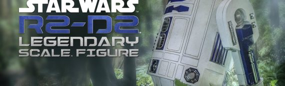 Sideshow Collectibles : R2-D2 Legendary Scale Figure unboxing