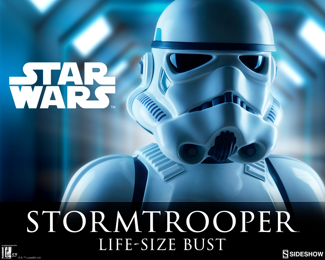 Sideshow Collectibles Life Size Bust Stormtrooper