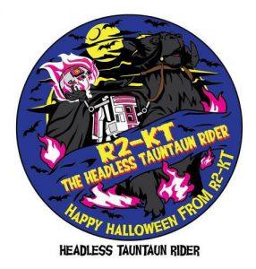 R2-KT Patch 2017 Halloween
