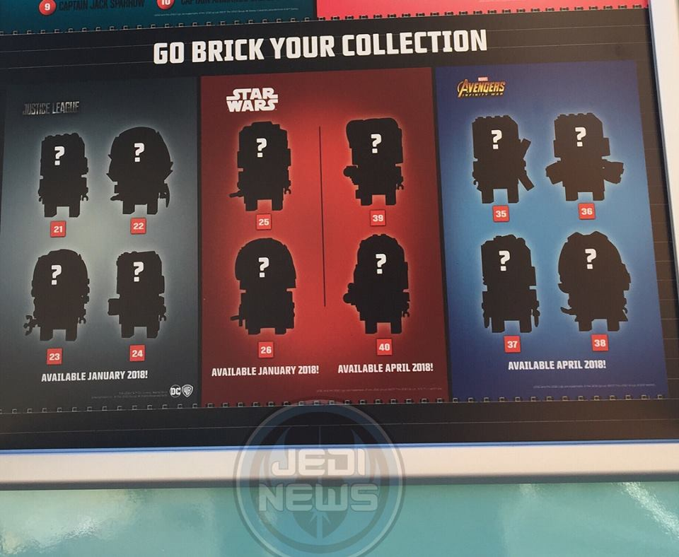 LeGo star wars brickheadz teaser