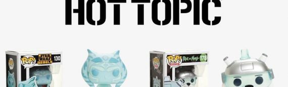 Funko POP : Glow-in-the-Dark Ahsoka Tahno Hot Topic Exclusive