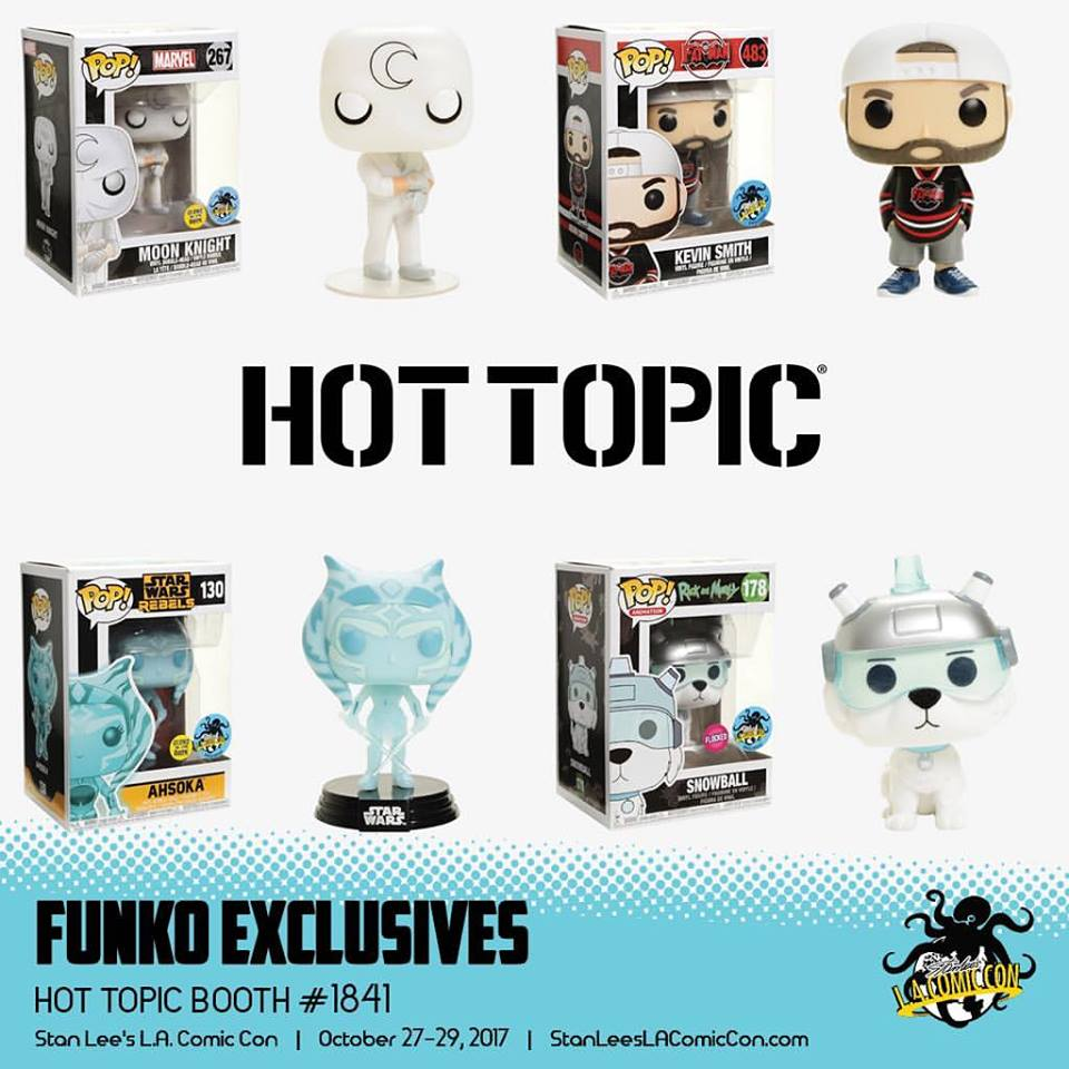 Hot Topic Funko Pop Ashoka Thano Exclusive