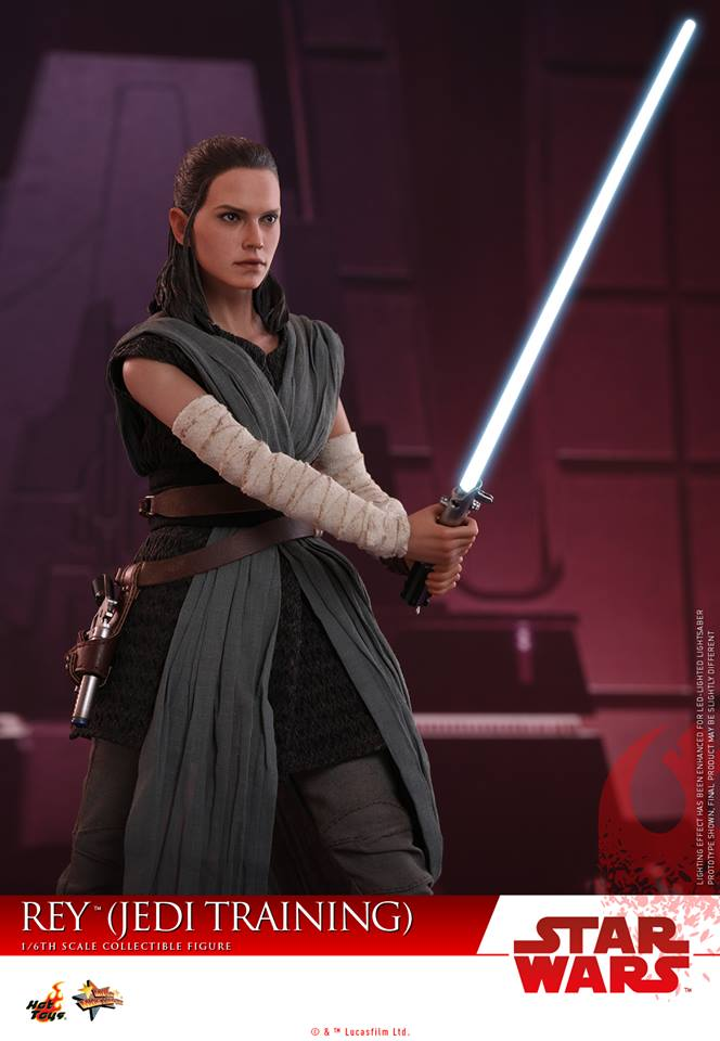 JEDI TRAINING Star Wars-Le dernier JEDI Loose-Rey