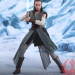 Star Wars The Last Jedi Hot Toys Rey Jedi Training Sixth Scale Figure