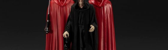 Kotobukiya – Empereur Palpatine & Royal Guard 3-Pack