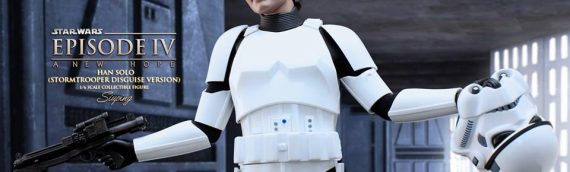 Hot Toys – Han Solo (Stormtrooper Disguise Version) Sixth Scale Figure