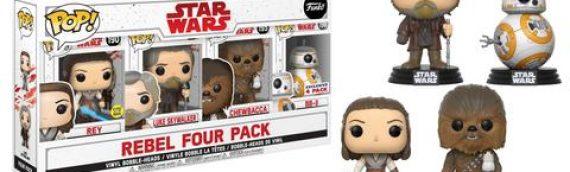 Funko POP : deux packs Star Wars The Last Jedi exclusifs