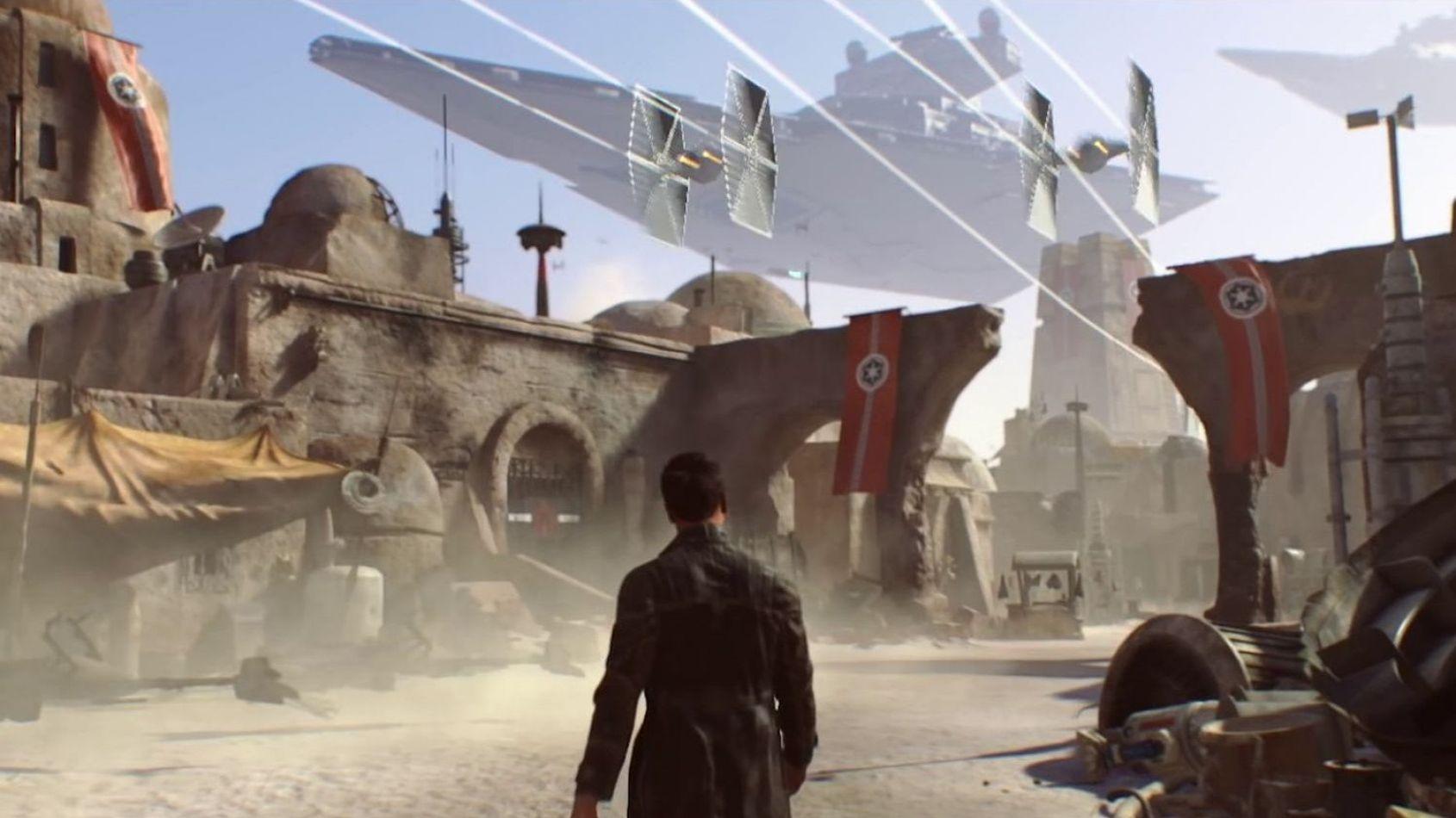 Star Wars eju Visceral Game