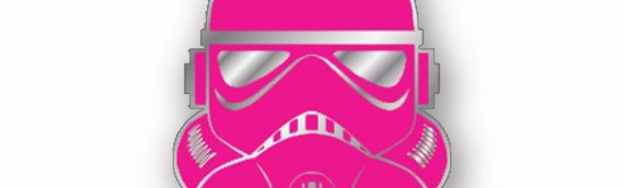 Force For Cure – Pink Stormtrooper Pins