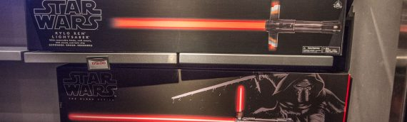Sabre laser Kylo Ren The Last Jedi – Disney Exclusive
