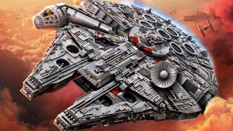 LEGO Faucon Millenium UCS 75192 instruction