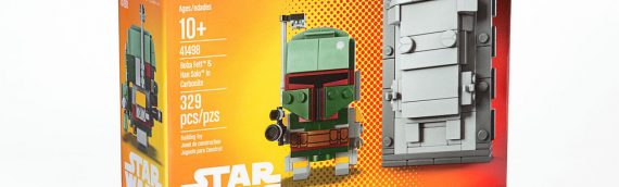 LEGO – New York Comic Con Exclusive Boba Fett & Han Solo Carbonite Brickheadz