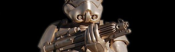 Lawrence Noble – Life Size Classic Stormtrooper Bronze