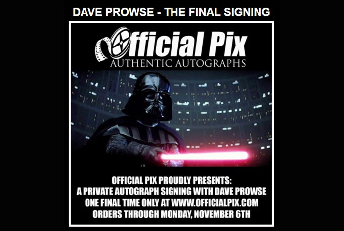Official Pix Dave Prowse