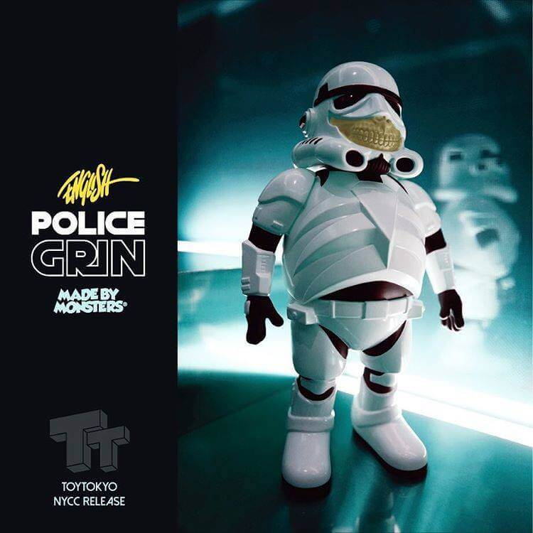 Arttoys NYCC Police Grin Ron English