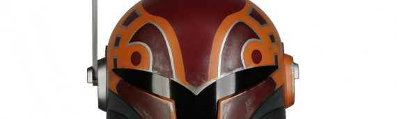 Anovos – Star Wars Rebels : casque de Sabine Wren