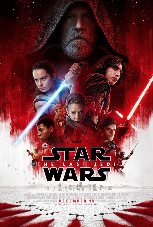 Star Wars The Last Jedi International Poster