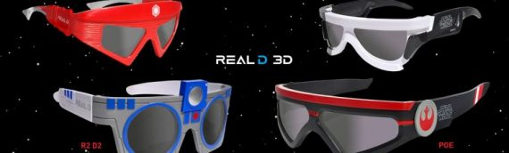 Star Wars The Last Jedi – Les lunettes Real 3D
