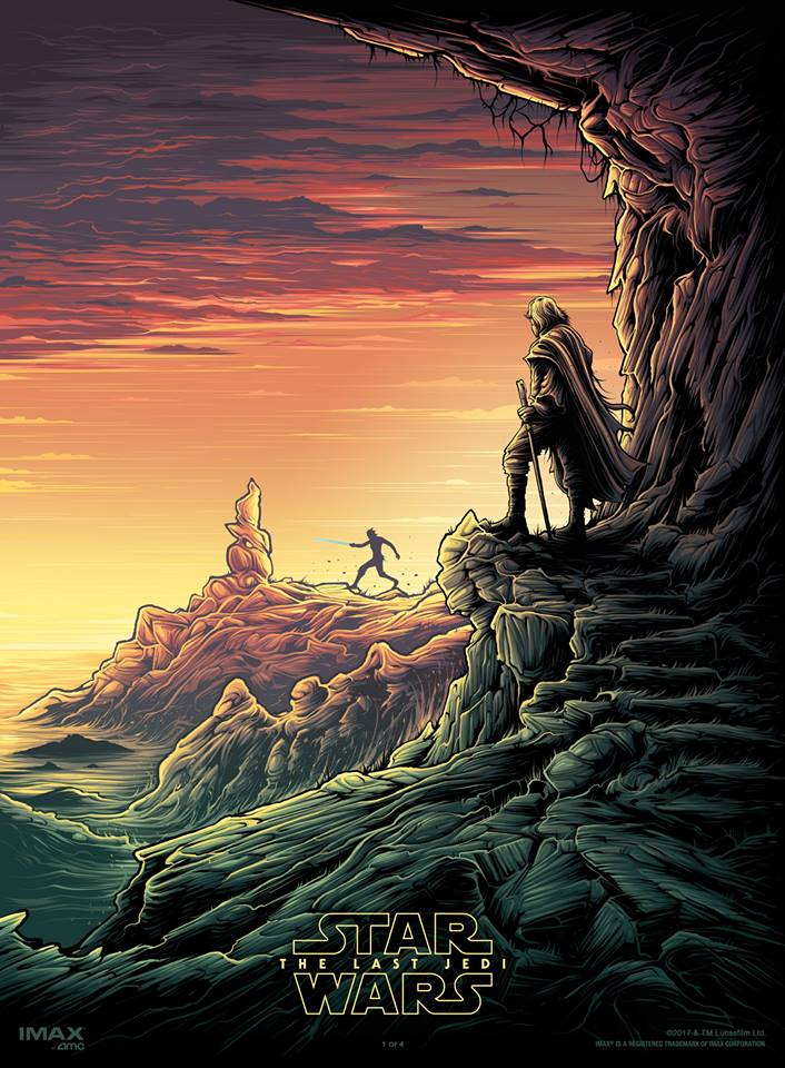 Star Wars The Last Jedi IMAX AMC Dan Mumford