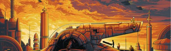 "Artwork – ""Cloud City"" by Dan Mumford Zavvi Exclusive"