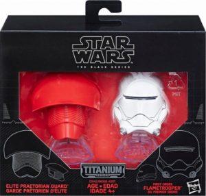 Star WArs The Last Jedi Hasbro Titanium Helmet