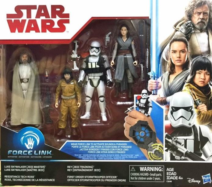 Hasbro The Last Jedi 4-pack