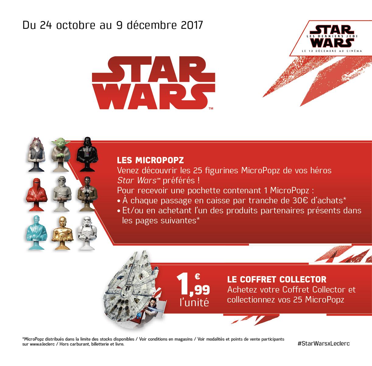 Leclerc Star Wars The Last Jedi Micropopz