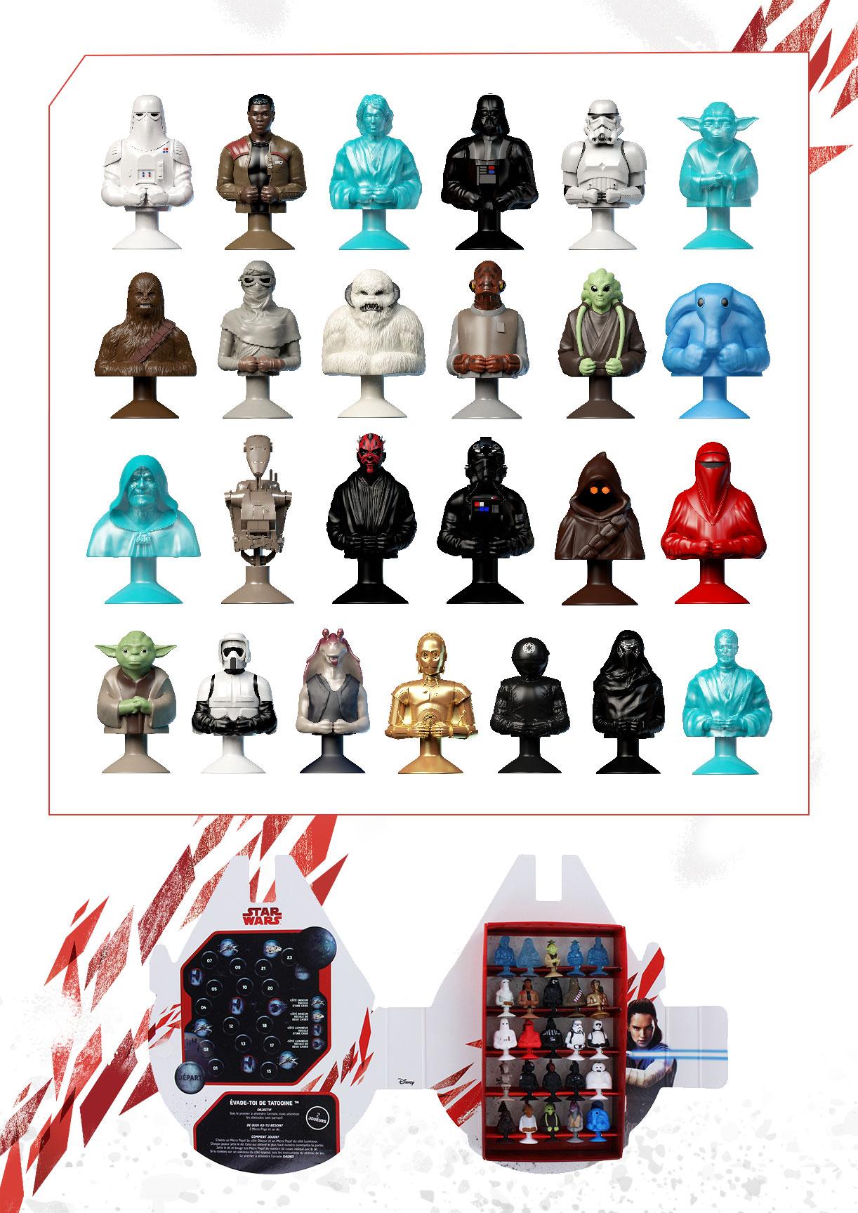 leclerc les star wars micropopz se d voilent officiellement mintinbox. Black Bedroom Furniture Sets. Home Design Ideas