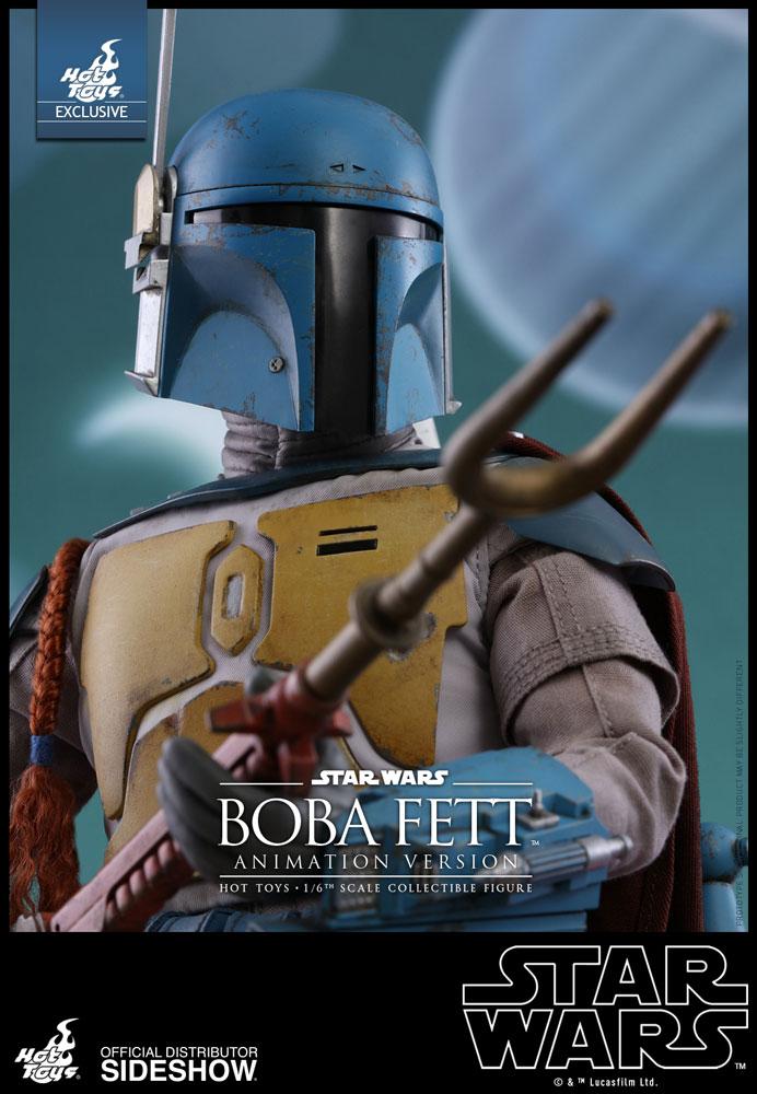 Star Wars Hot Toys Boba Fett Animation Version