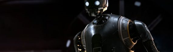 Sideshow Collectibles : Unboxing K-2SO Life-Size Figure