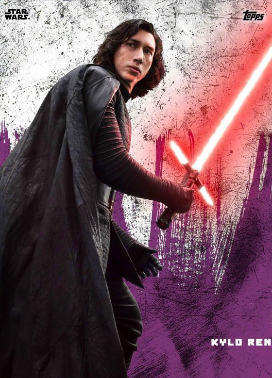 TOPPS Star Wars The Last Jedi Trading Card